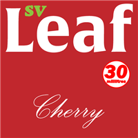 S. Vape Leaf - Cherry 3 X 10ml (3 Pack)