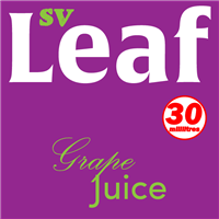S. Vape Leaf - Grape Juice 3 X 10ml (3 Pack)