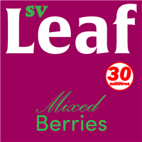 S. Vape Leaf - Mixed Berries 3 X 10ml (3 Pack)