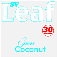 S. Vape Leaf - Open Coconut 3 X 10ml (3 Pack)