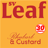 S. Vape Leaf - Rhubarb & Custard 3 X 10ml (3 Pack)