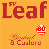 S. Vape Leaf - Rhubarb & Custard 6 X 10ml (6 Pack)