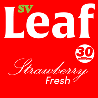 S. Vape Leaf - Strawberry Fresh 3 X 10ml (3 Pack)