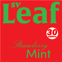 S. Vape Leaf - Strawberry Mint 3 X 10ml (3 Pack)