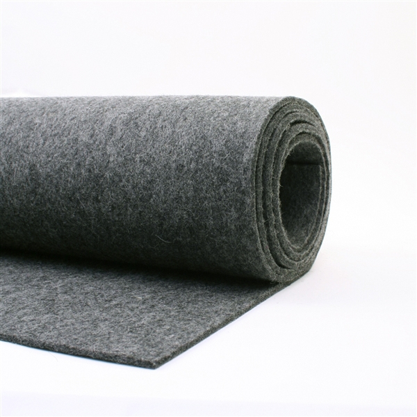 "Heather Charcoal - 3mm - 9"" X 18"" [$12.50]"