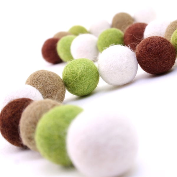 Felt Balls -  Autumn Set