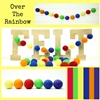 Felt Balls MIX -  Over The Rainbow
