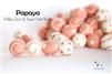 Felt Balls -  Papaya Dots & Swirls