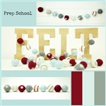 Felt Balls MIX -  Prep School