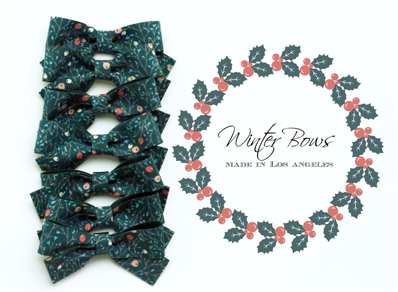 Winterberry Spice Bow
