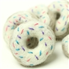 Sprinkled Donut White