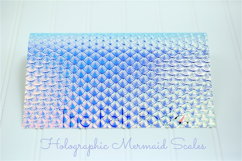 Holographic Mermaid Scale