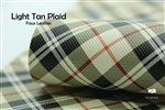 Light Tan Plaid