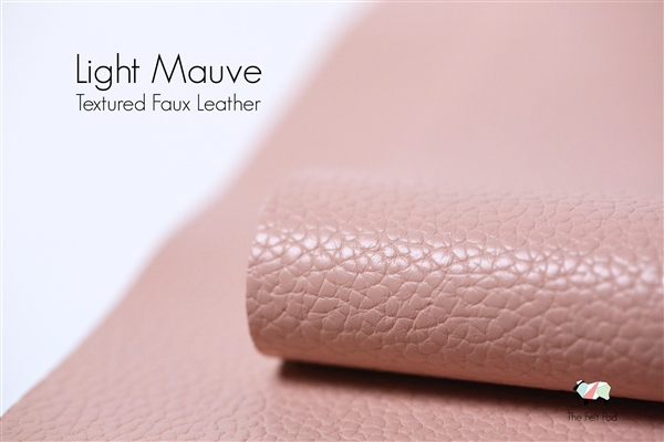 LIGHT MAUVE Matte Textured