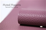 MUTED MAGENTAMatte Textured