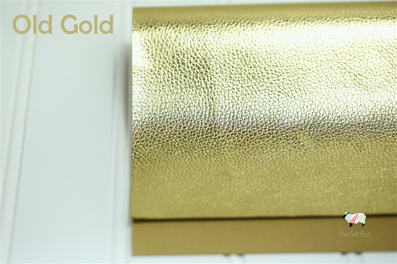 Textured Metallic - Old Gold