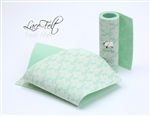 Fresh Mint Lace Felt