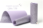 Majestic Purple Glitter Felt