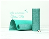 Light Emerald Glitter Felt