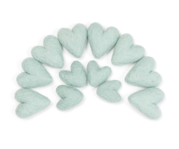 Felt Hearts - Ice Daiquiri