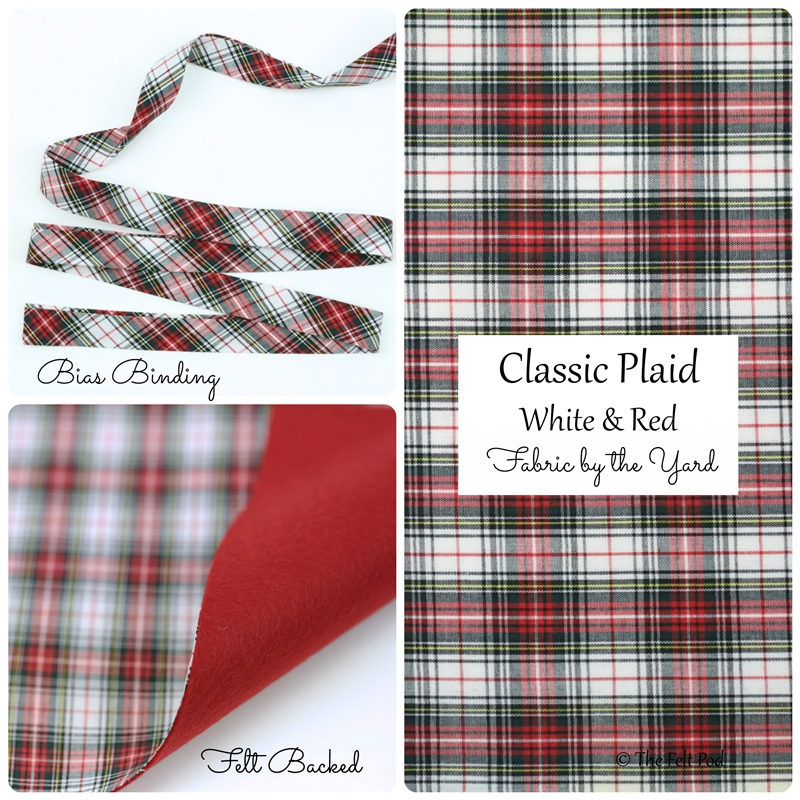 Classic Plaid - Red/White