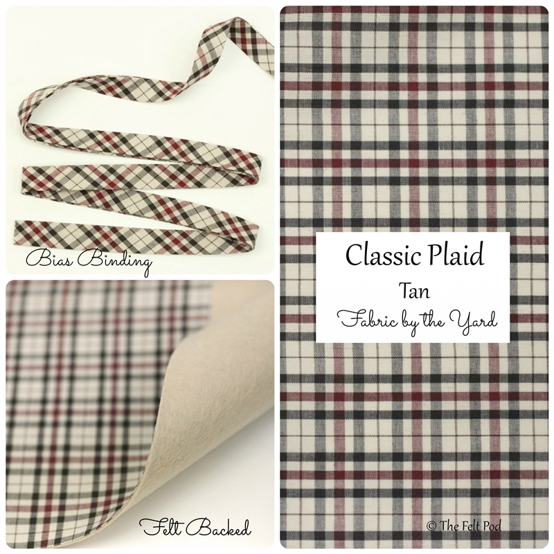 Classic Plaid - Tan