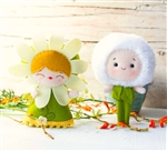 DIY Doll Kit - Daisy & Dandelion