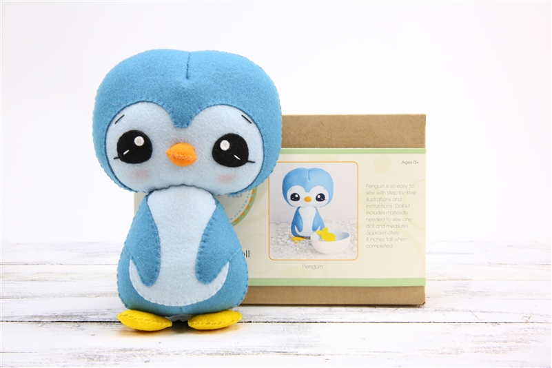 DIY Doll Kit - Penguin