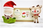 DIY Doll Kit - Santa & Rudolph