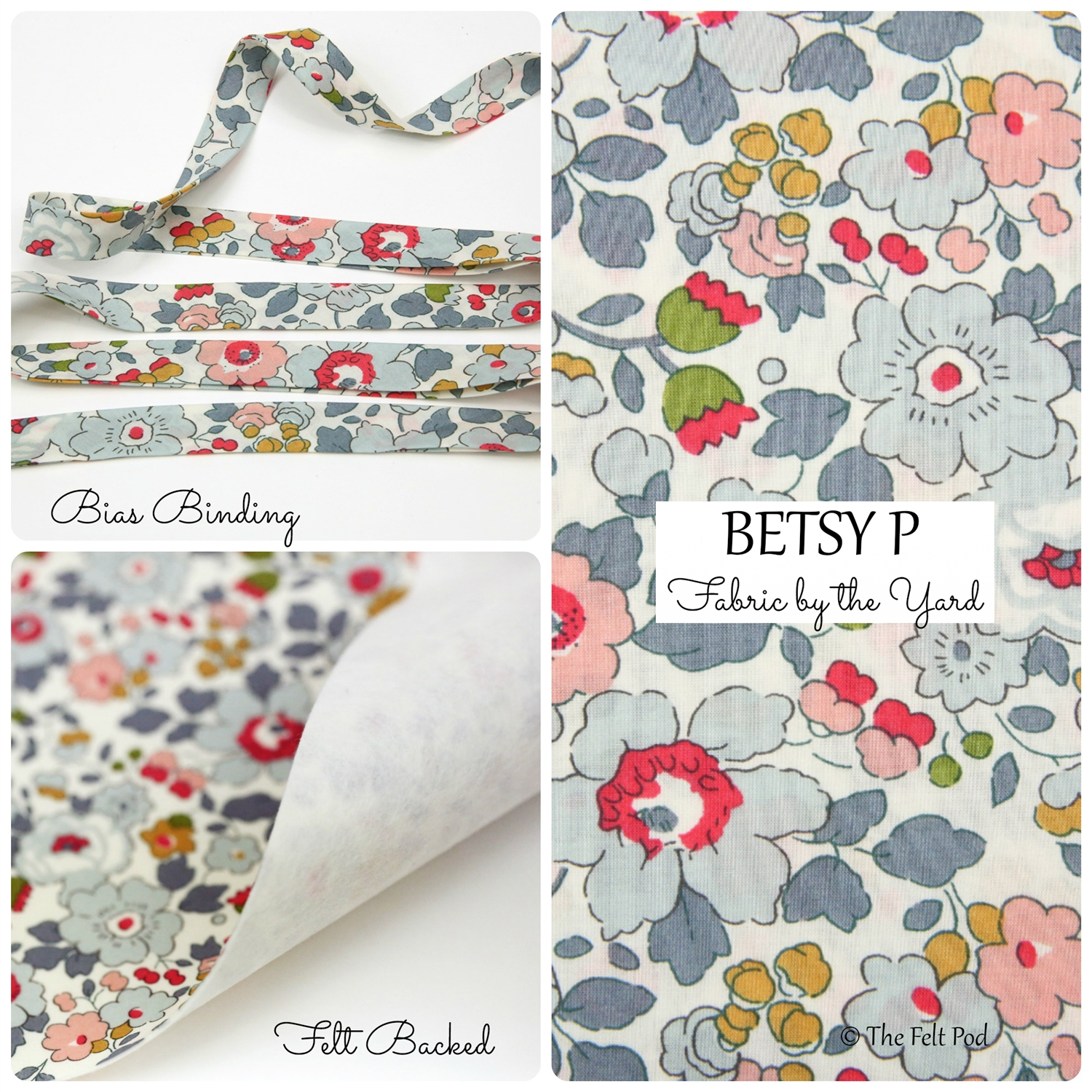 Liberty of London Betsy P Bias Binding & Yardage