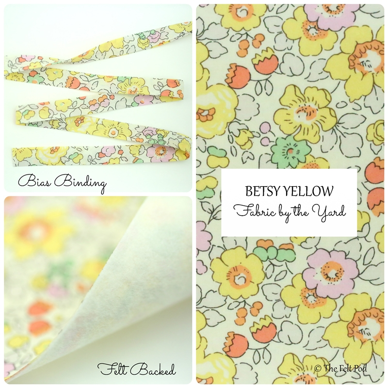 Liberty of London - Betsy Yellow
