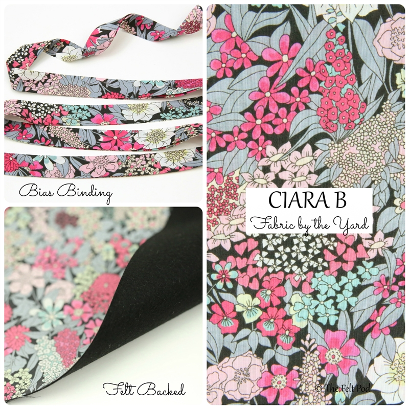 Liberty of London - Ciara B Black