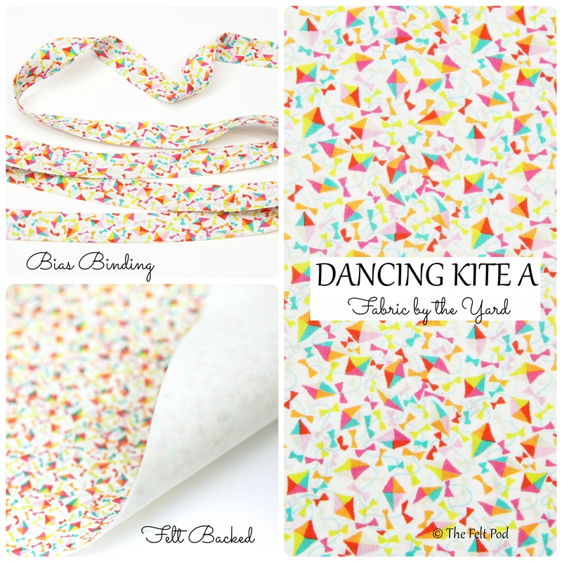 Liberty of London - Dancing Kite A White
