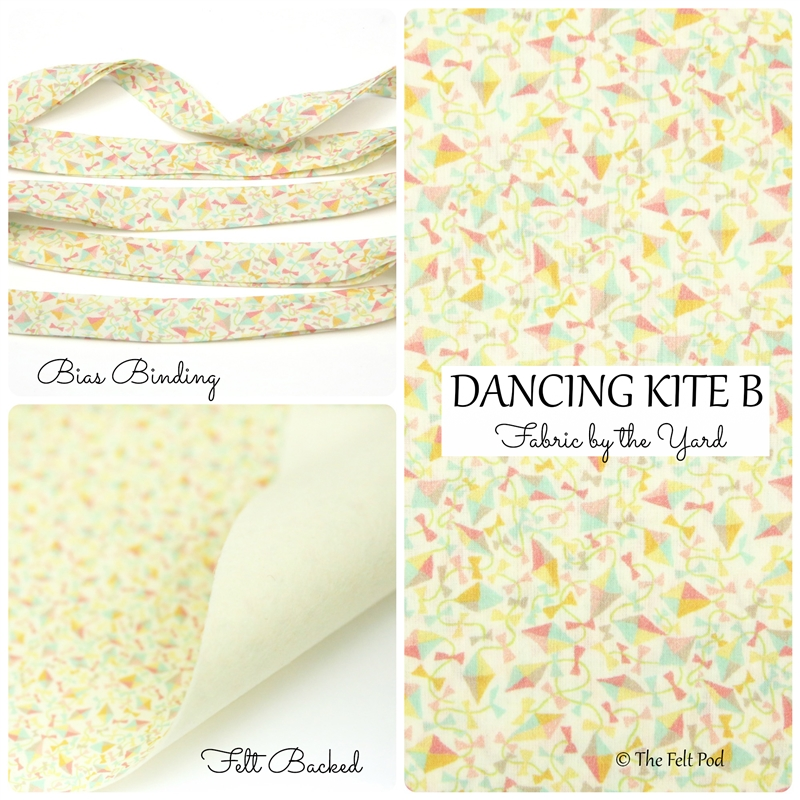Liberty of London - Dancing Kite B Yellow