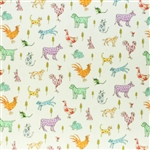 Liberty of London - Farmyard Tale Green