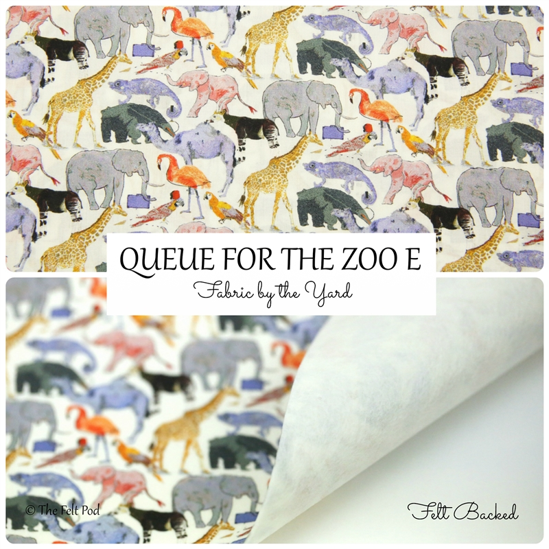 Liberty of London - Que For The Zoo E