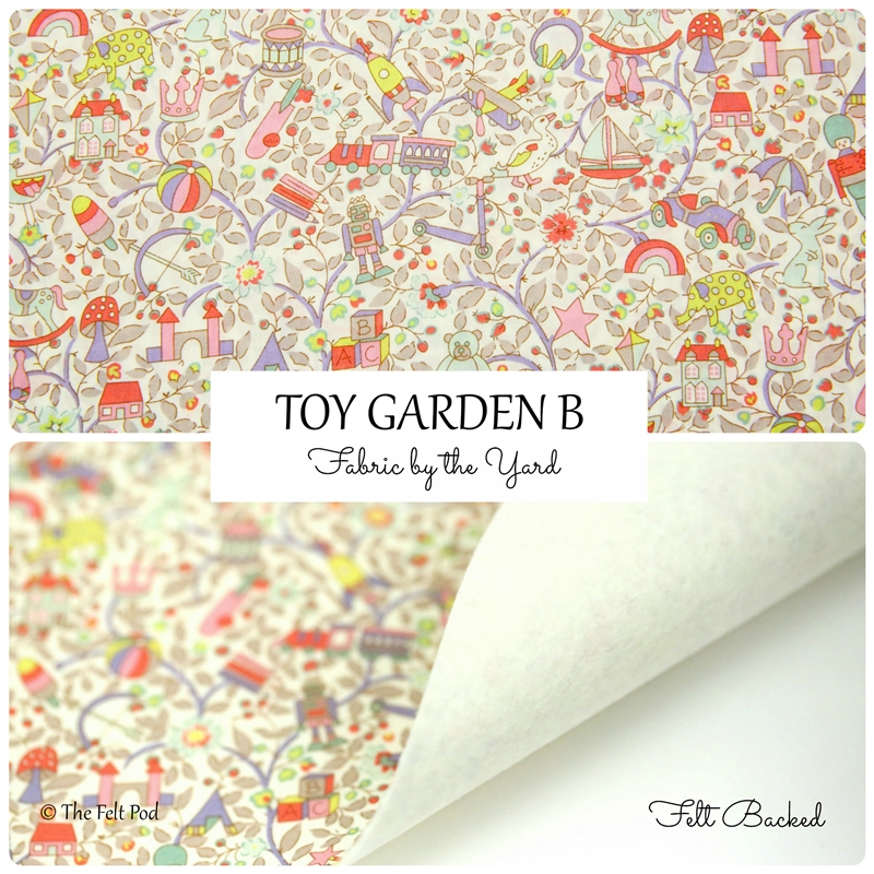 Liberty of London - Toy Garden B