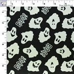 Ready Set Glow in The Dark Ghosts - Black