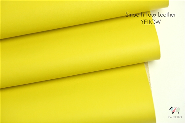 Smooth Leather - Yellow