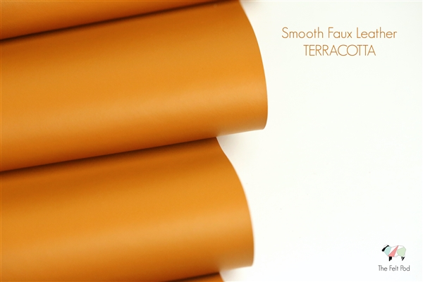Smooth Leather - Terracotta