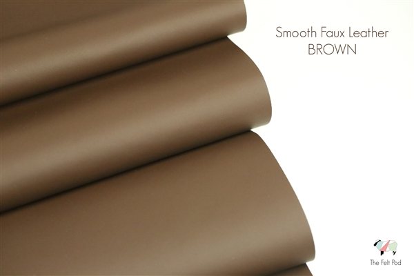 Smooth Leather - Brown