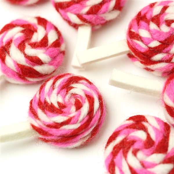 Sweetheart Swirl Lollipop