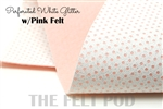 Perforated White - Pink