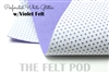 Perforated White - Violet