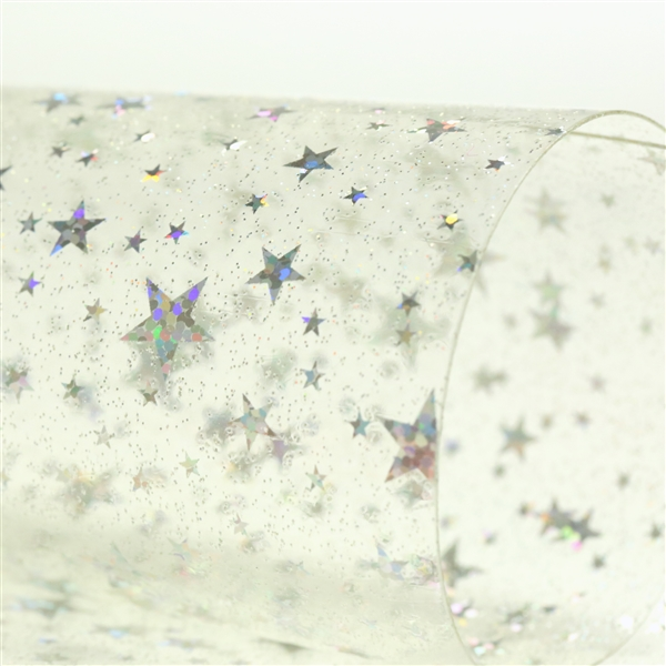 Holographic Star - Clear