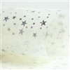 Holographic Star - Opaque White