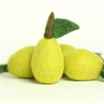 Yellow Felt Pear