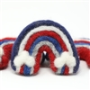 Large Felt Rainbow - Patriotic