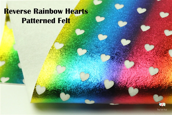 Reverse Tiny Rainbow Hearts