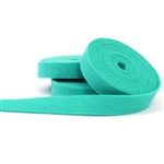 Aquamarine Wool Felt Ribbon